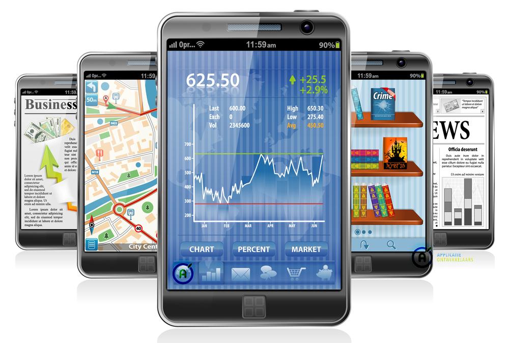Mobiele applicaties ontwikkelen