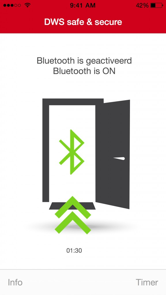DWS_BT_Active_Bluetooth_app_iphone_ON