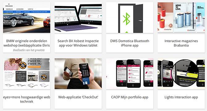 App maken voor bedrijven